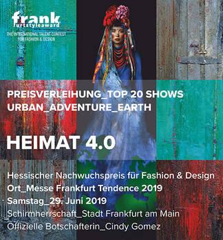 FRANKfurtstyleaward 2019: Heimat 4.0