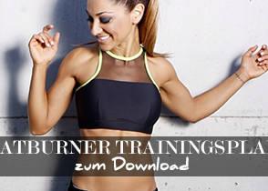 Fatburner Trainingsplan: Fett abbauen, Muskeln aufbauen und definieren