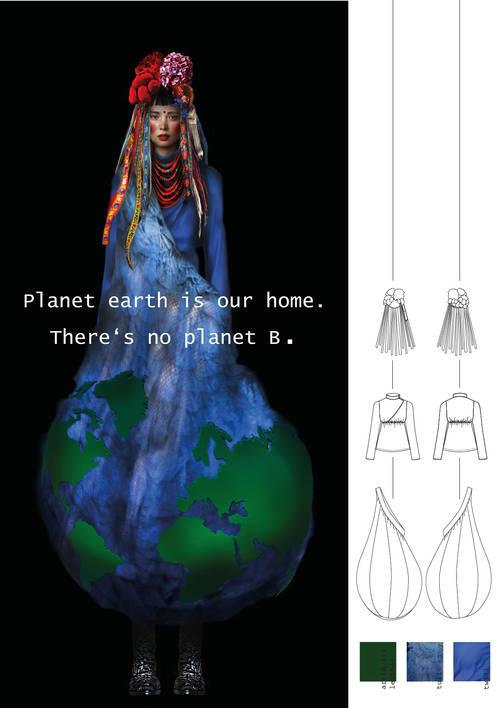 There is no planet B: Eva Valentina Ruthe (Deutschland), Student / Foto: frankfurtstyleaward