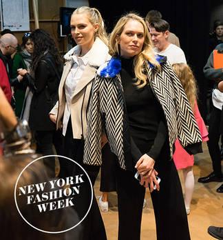 New York Fashion Week: Den Foster Sisters auf der Spur