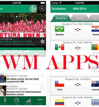 WM Apps - Die Top 10 Apps zur Fußball Weltmeisterschaft