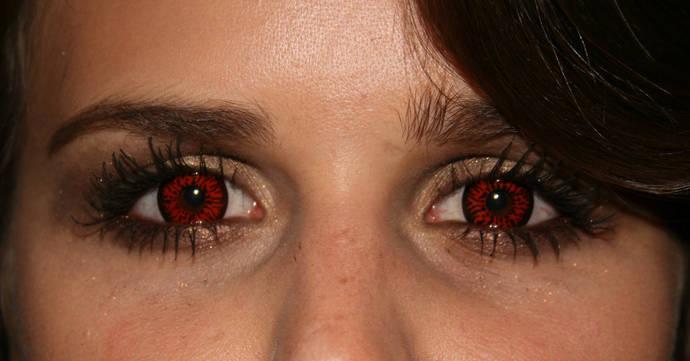 Dämonischer Blick