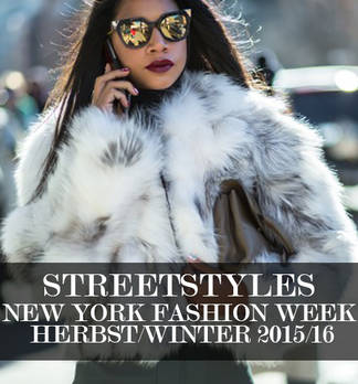 Streetstyles der New York Fashion Week H/W 2015/16