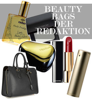 Beauty Bag von Flair Redakteurin Alexandra Brechlin