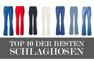 Schlaghosen: Unsere Top 10 Modelle für den Sommer 2015