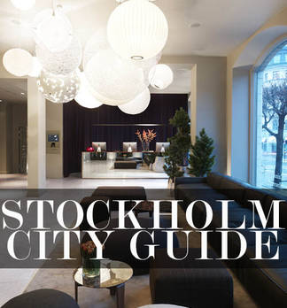 Stockholm City Guide für Mode, Design und Hotels