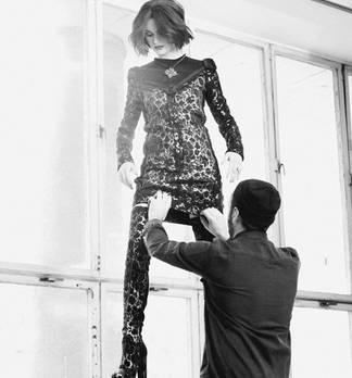Fashion Shooting Backstage Barock Trends