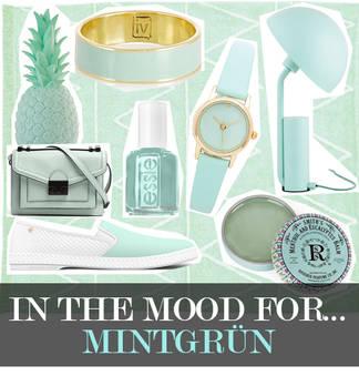 Trend: Mintgrün