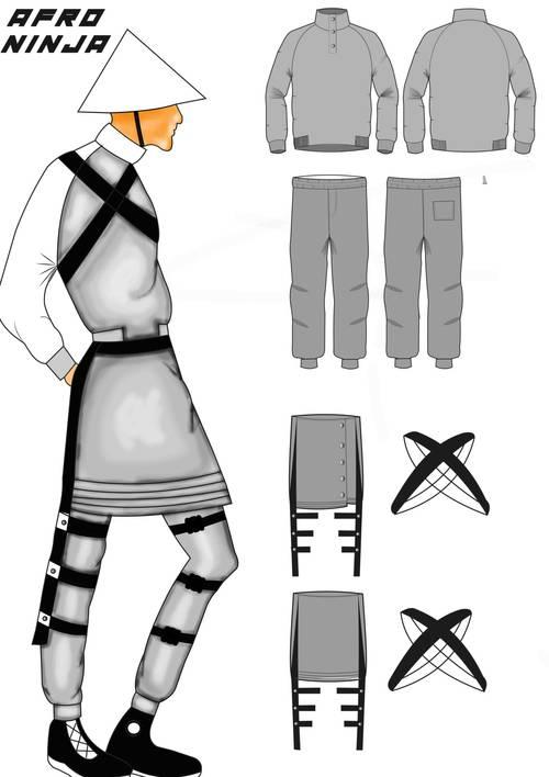 Afro Ninja: Duma Soko (Südafrika), Student
