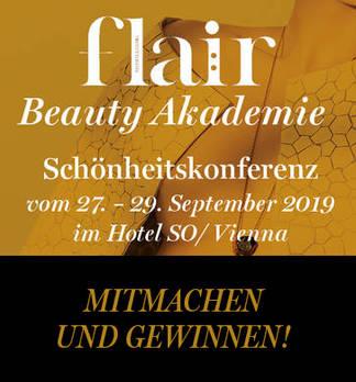 Gewinnspiel zur flair Beauty Akademie