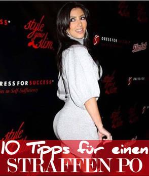 10 Tipps für einen straffen Po