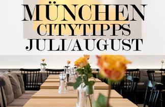 Citytipps München im Juli/August 2015