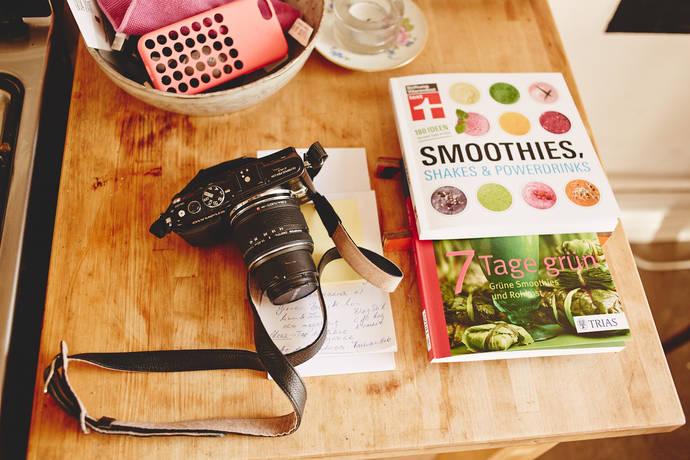 7 Tage Grün ist das neue Green Smoothie Buch von Franziska Schmid von www.veggie-love.de