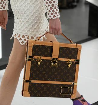 Reisetaschen: Trolleys und Koffer im Vintage-Look