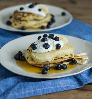 Quark-Bananen-Pancakes