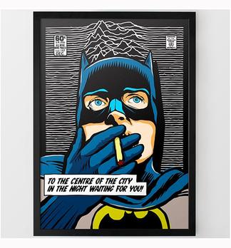 Superhelden Poster für die Wohnung