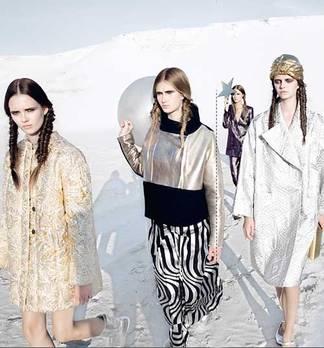 """flair Fashion Shooting: """"Mondlicht Ära"""" Behind the Scenes"""