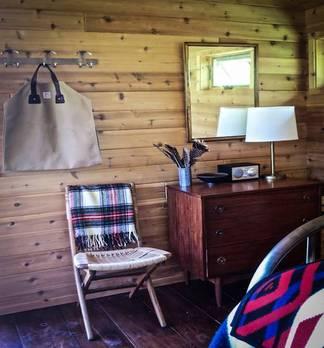 Into the wild - Urlaub in der Blockhütte vor NY