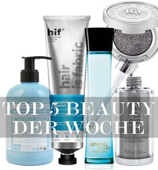 Beauty Top 5 –Lieblinge der Woche