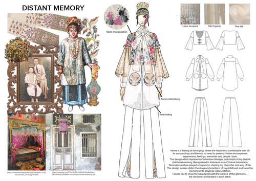 Distant Memory: Tiffany Anggiono (Indonesien), Student