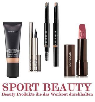 Sport Beauty - Beauty Produkte die das Workout durchhalten