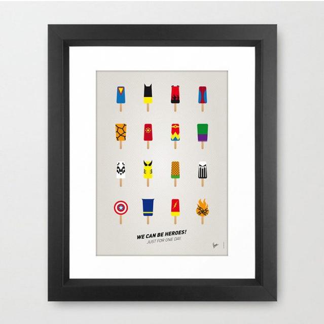 Superhelden Eispops Poster, ca. 55 €