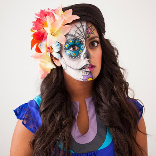 Mexikanischer Sugar Skull von Misty Spinney