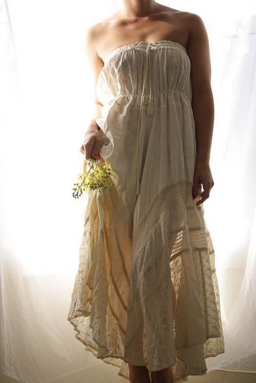 Boho Hochzeitskleid von White Romance