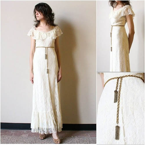 Boho Hochzeitskleid von Factory Hand Book
