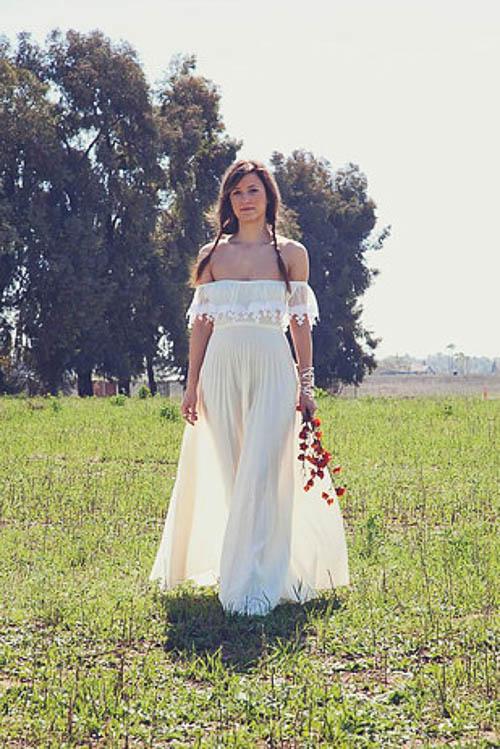 Böhmisches Hochzeitskleid von Daughters of Simone