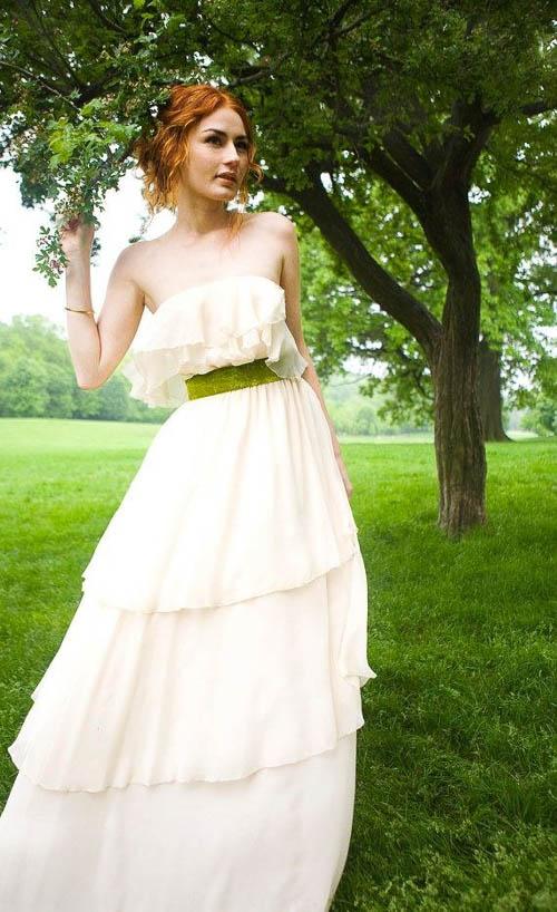 Boho Hochzeitskleid von Grace Loves Lace