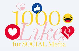 1000 Likes für Social Media
