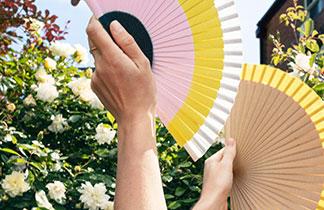 Sommer-Accessoire: Fächer