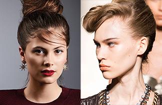 Drei glamouröse Frisur-Ideen für die Festtage