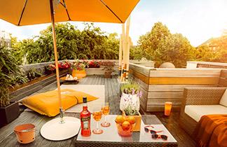 DIY Sommeroase - Mit Aperol die Sunny Side of Life feiern