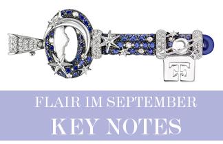flair Magazin im September: Key Notes
